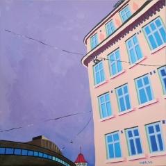 Jos kaikki ois toisin / Helsinki. 70 x 70 cm, MYYTY