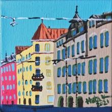 Onni / Helsinki. 16 x 16 cm, MYYTY.